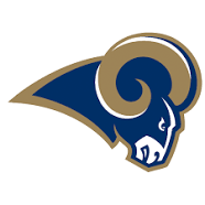 team photo for Los Angeles Rams